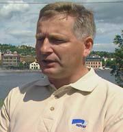 Tore Opdal Hansen, ordfører i Drammen. Foto: NRK.