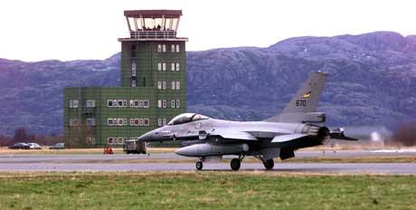 106 fly er ventet til øvelsen på Ørlandet. (Foto: Gorm Kallestad / SCANPIX)