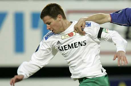 Ham Kam-spiller Petter Vaagan Moen er enig med Brann om en femårig avtale. Foto: Scanpix.