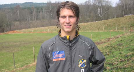Christoffer Dahl. Foto: Svein Olav Tovsrud, NRK.