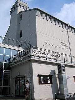 Bunker fra andre verdenskrig. Som i Bochum blir denne brukt til kulturelle formål. Foto: Schtimm.