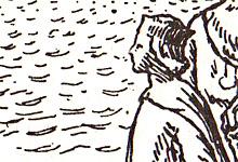 Magnus 1 Olavsson, den gode. Illustrasjon: Halfdan Egedius