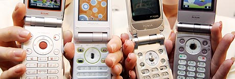 Tredje generasjons mobiltelefoner: 3G. Foto: Shizuo Kambayashi, AP Photo / scanpix.