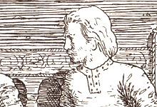 Harald Hardråde. Illustrasjon: Wilhelm Wetlesen