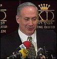 Benjamin Netanyahu er mest populær blant velgerne (foto: EBU).