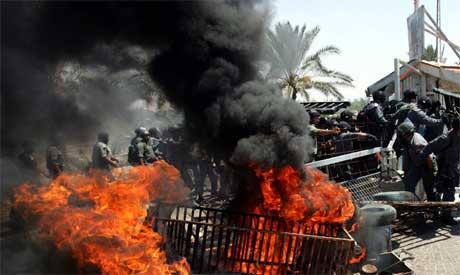 Israelske soldater stormet hotell på Gaza-stripen (Foto: Scanpix/Reuters)
