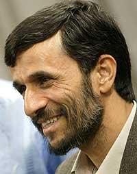 President Mahmoud Ahmadinejad. (Foto: AFP/Scanpix)