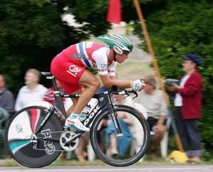 Hushovd var skuffet etter første etappe av Tour de France 2005. (Foto: AFP/ SCANPIX)
