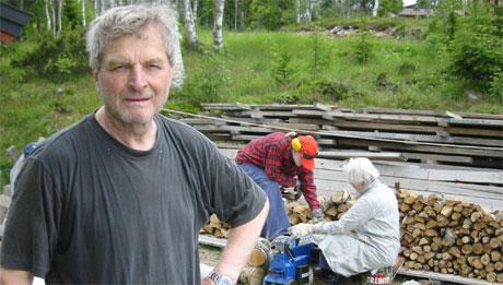 Misfornøyd nestleder i hytteeierforeninga Kjell Brenden, foto: Joar Elgåen
