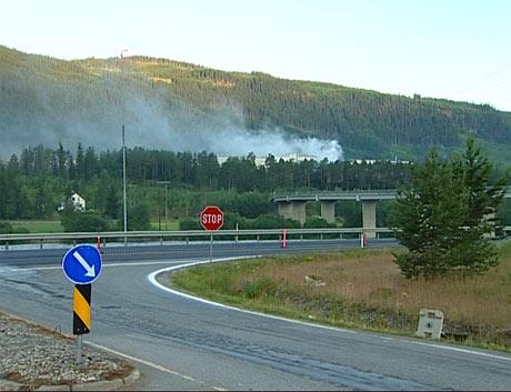 De mest verdifulle bygningene ble berget i brannen.