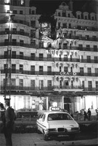 FEM DREPT: En bombe rammer nesten Thatcher-regjeringen. Fem personer blir drept. Foto: Scanpix