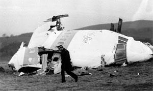 LOCKERBIE: 270 mennesker omkom da et fly fra Pan-America ble spregt i luften. Foto: Scanpix