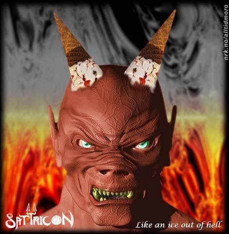 Skummel sommerplate fra det norske bandet Satyricon. (Innsendt av Trym Anonsen)