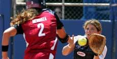 Softball blir ikke å se på OL-programmet i 2012 (Foto: Scanpix)
