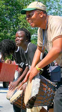 Frå folkemusikkfestivalen 2005. Foto Steinar Lote NRK