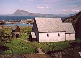 Kinn kyrkje. Foto: Torgunn Kvellestad
