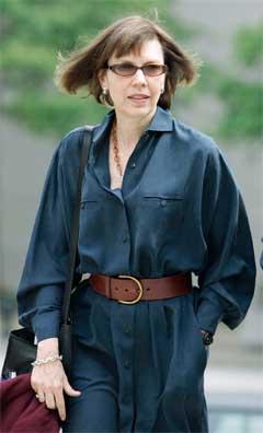 New York Times-journalisten Judith Miller måtte i fengsel fordi ho ikkje ville bryte kjeldevernet. (Foto:AFP/Scanpix)