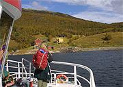 Fjellvåken 2 kan nå frakte turistene innover vannet uten problemer. (Foto:Ingar Bjørnø)