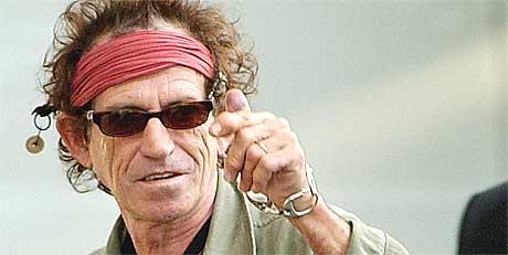 Keith Richards er verstingen innen rock' n' roll. Foto: J.P. Moczulski, AP Photo/Scanpix.