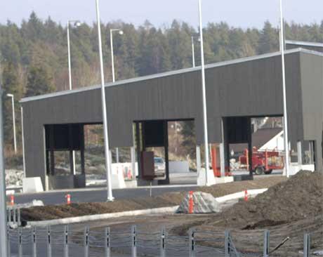 Den nye tollstasjonen på Svinesund Foto: Lise Åserud / SCANPIX