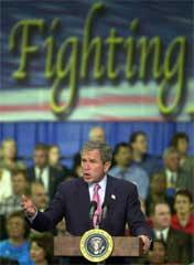 Bush trengte et godt argument for å legitimere krigen i Irak (Foto: Scanpix/AP/S. Walsh)