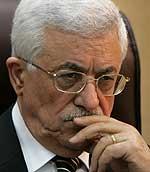 President Mahmoud Abbas. (Foto: AFP/Scanpix)