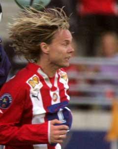 Bjørn Johansen ble utvist midt i første omgang. (Foto: Alf Ove Hansen / SCANPIX)