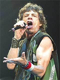 Mick Jagger og The Rolling Stones hadde ingen problemer med å selge 20.000 billetter til konserten i Bergen. Foto: Scanpix.