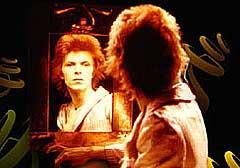 David Bowie tok livet av Ziggy Stardust i 1973. Foto: Arkiv.