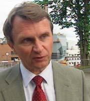 Konsernsjef Jan Oksum var ansvarlig for kjøpet i Nederland. Foto Lars Tore Endresen, NRK.