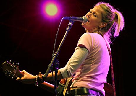 Trish Murphy var hoved-trekkplaster på fredagen. Foto: Per Ole Hagen, NRK P1