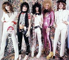 New York Dolls i storhetstiden på 70-tallet. Foto: Promo.
