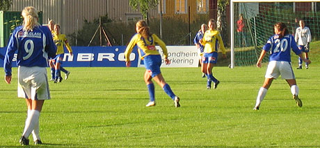Trondheims-Ørn slo Kattem 5-1 i tredje runde i cupen. (Foto: NRK)