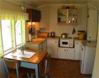 Intim stemning på kjøkkenet.(Foto:NOTAR)
