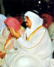 Den saudi-arabiske kong Fahd døde i går, etter lang tids sykdom. Bildet er fra 1991. (Foto: Scanpix/AP/A. Madina)