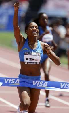 Sanya Richards vant 400 meter i det amerikanske mesterskapet i år. (Foto: AFP/Scanpix)