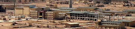 Arbeidet ved atomanlegget Isfahan blir teke opp att i dag. (Scanpix-foto)