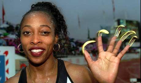 Første VM på lenge uten Gail Devers og neglene hennes. (Foto: AP/Scanpix)