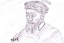 Kong Christian 3. Illustrasjon: Per Kristian Johansen, NRK