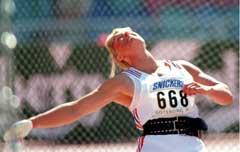 Mette Bergmann i aksjon under VM i Göteborg der hun ble nummer seks. (Foto: Scanpix)