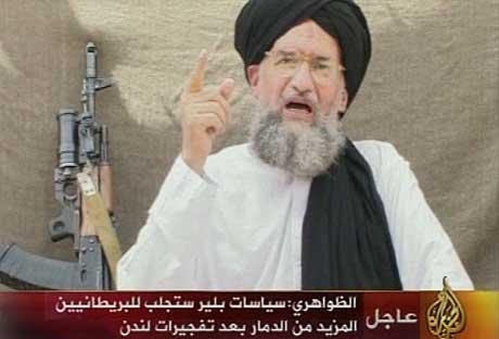 Bilde fra den siste videoen til Ayman al-Zawahri. (Foto: Reuters/Scanpix)