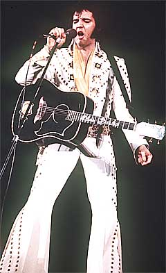 Elvis Presley ville blitt 71 år denne uka, om han hadde fått leve. Foto: Scanpix.