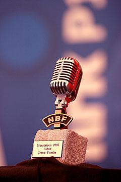 NBFs Bluespris 2005 gikk til Trond Ytterbø. Foto: Arne Kristian Gansmo, NRK.