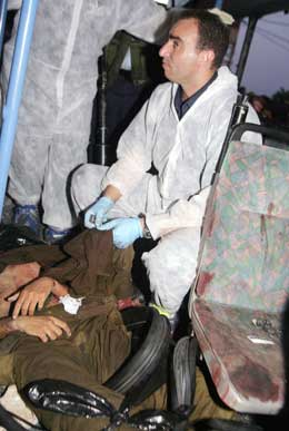 Drapsmannen ble lynsjet (Scanpix/AFP)
