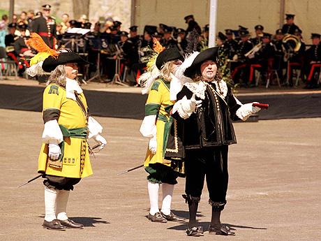 Christian IV spilt av Knut Risan. Foto: Ørn E. Borgen / SCANPIX