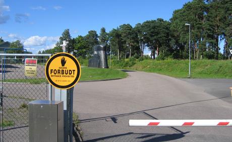 Det militære området på halvøya Karljohansvern er bare et av 171 steder allmennheten møter stengsler på hortenskysten. (Arkivfoto: Rune Christoffer Holm, NRK)