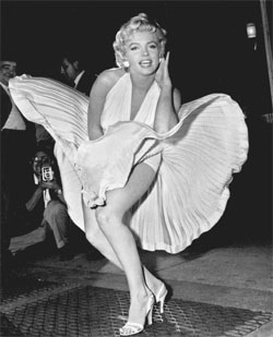 Marilyn Monroe. Foto: AP Photo/Matty Zimmerm