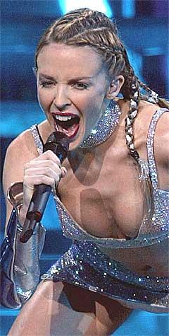Kylie Minogues Showgirl-turné vil fortsette våren 2006. Foto: Scanpix.
