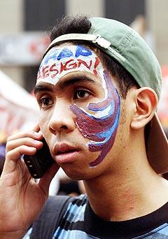 Nå kan du snart signalisere hva du mener om de som ringer til deg, ved å legge inn egen musikk for hvert enkelt nummer. Foto: Bullit Marquez, AP Photo / Scanpix.
