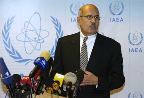 IAEA-sjef og Nobelprisvinner Mohamed El Baradei er bekymret over Irans atomprogram. (Scanpix-foto)